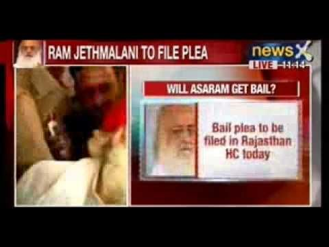 Breaking News : Top lawyer Ram Jethmalani to file Asaram Bapu's bail plea in Rajathan High Court