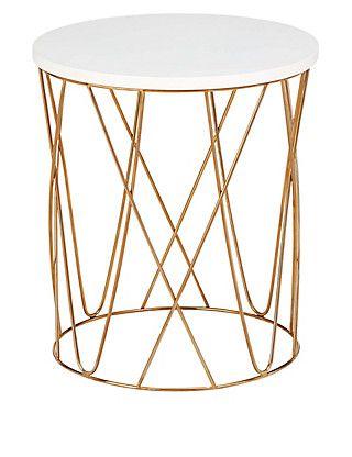 Lena Copper Coffee Table   M&S