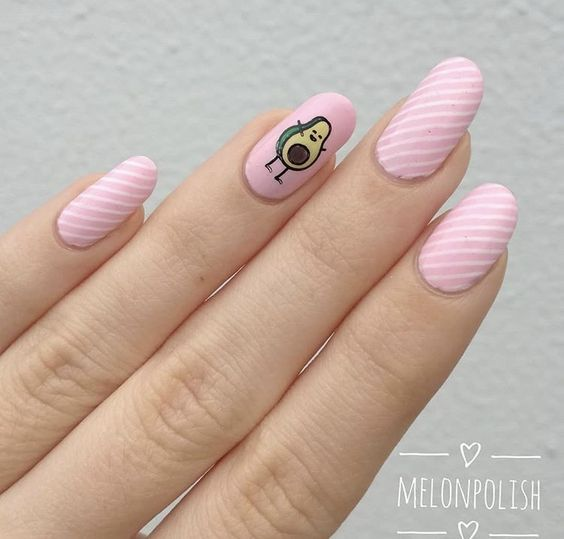 52 Cute and Lovely Pink Nails Designs to Look Romantic and Girly – Page 31 of 52…