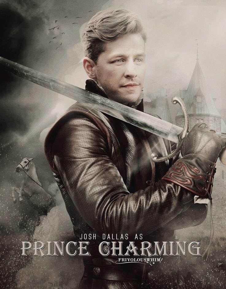 Josh Dallas as Prince Charming    OUAT Season 5 – Movie Poster Style ‹ FrivolousWhim