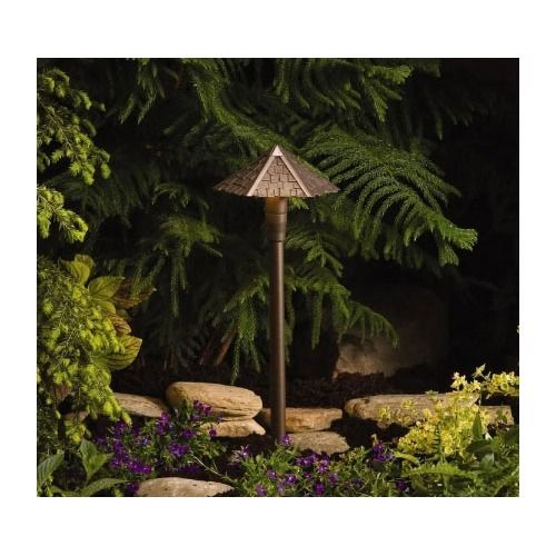Shingle Outdoor Path Light in Bronze, $118.50 http://www.paradisewaterfountains.com/#!/~/product/category=3841209=16520230