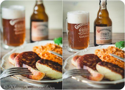 Kleiner Kuriositätenladen: Kartoffelplätzchen mit Paprikakraut