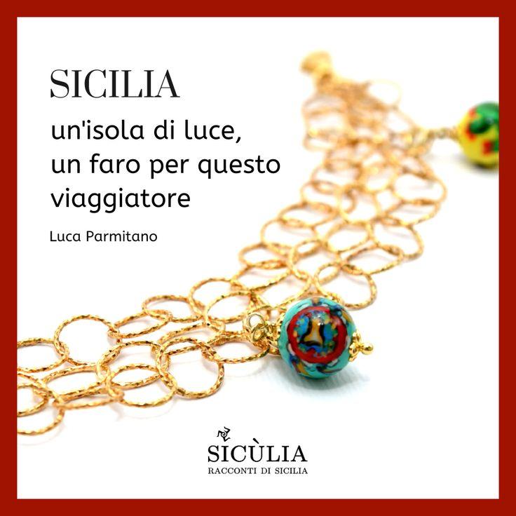 Bracciale artigianale in Argento 925 e Agata dipinta a mano. Collezione Sicùlia. Gioielli Sicilia