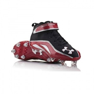 SALE - Mens Under Armour Fierce III Football Cleats Black - Was $89.99. BUY Now - ONLY $44.97