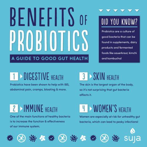 Suja Juice Benefits of Probiotics