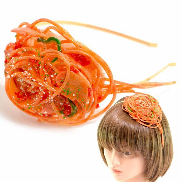 【食品サンプル】ナポリタンのカチューシャ【アクセサリー】