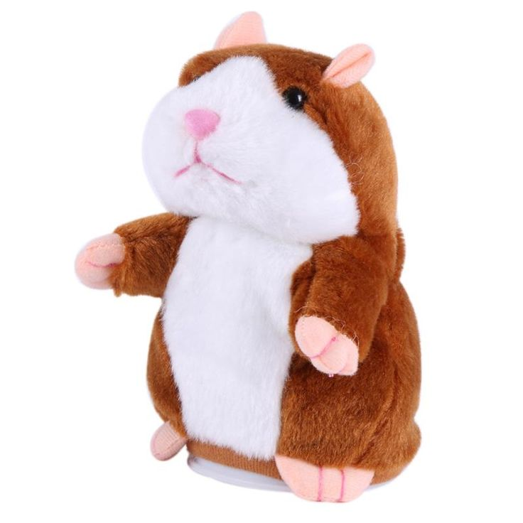 Cute Talking Hamster