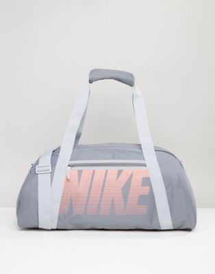 Nike Travel Bag In Grey