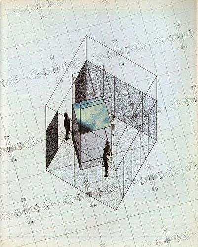 illustration by superstudio (Piero Frassinelli, Alessandro Magris, Adolfo Natalini, Alessandro Poli, Cristiano Toraldo di Francia)