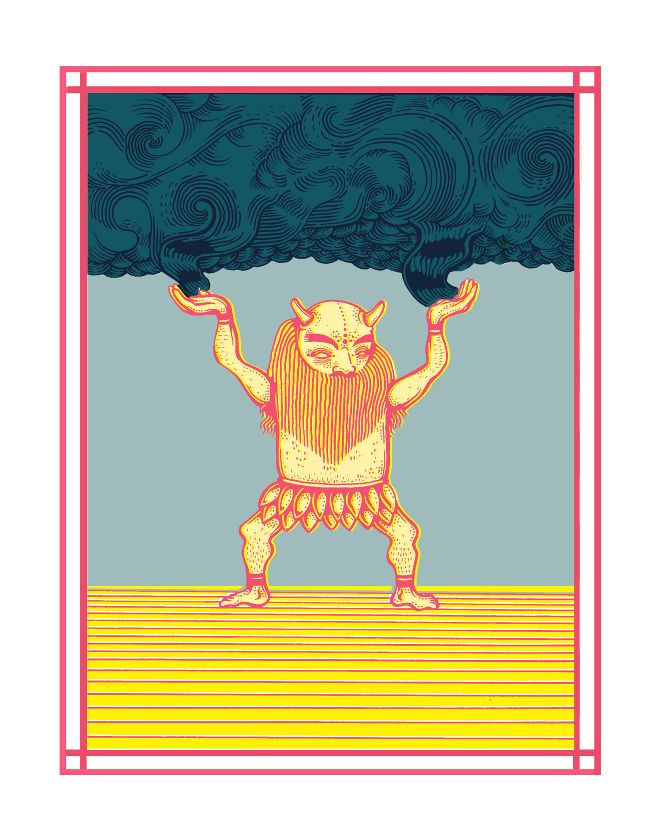 Creation Myth - elenaboils illustration