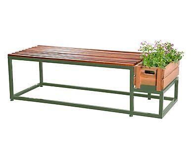Banco com Floreira Spring - Verde