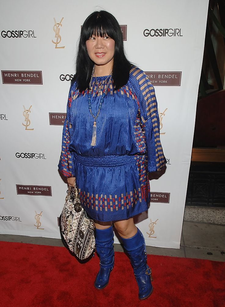 "Anna Sui in Henri Bendel & YSL Beaute Celebrate ""Gossip Girl"" Season 2"