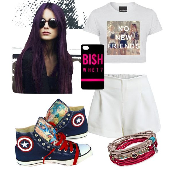 Untitled #18 by hanifahcandra on Polyvore featuring polyvore fashion style Converse Platadepalo