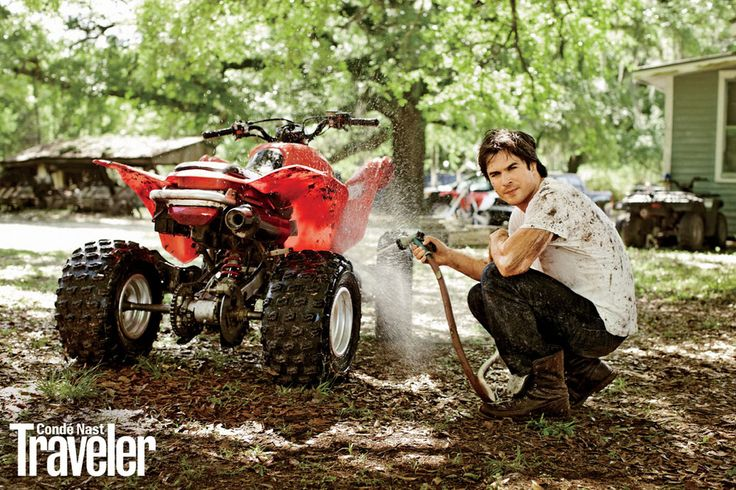 Ian Somerhalder Gets Dirty for Condé Nast Traveler — See the Sexy Pics!