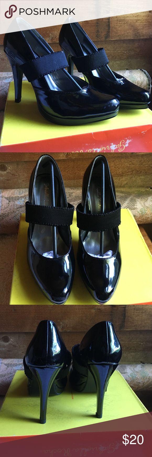 Gabriella Rocha black patent shoes Gabriella Rocha black patent heels . 4 1/2 heel height. These are B-medium. Vanani. Firm on price Gabriella Rocha  Shoes Heels