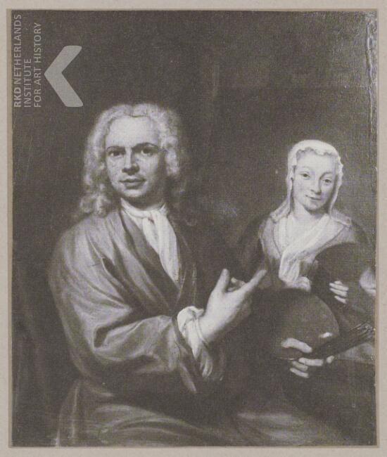 Jan Maurits Quinkhard Self portrait, voor 1741