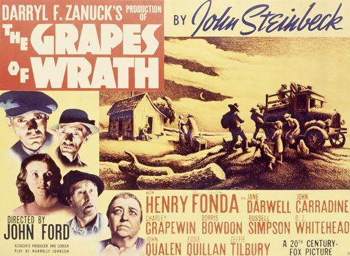 Henry Fonda Grapes Of Wrath Custom Sign Vintage Signs
