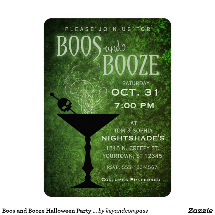 96 best Halloween Chic Invitations images on Pinterest | Halloween ...