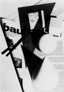 """Herbert Bayer, Copertina del primo numero della rivista """"Bauhaus"""", 1928"""