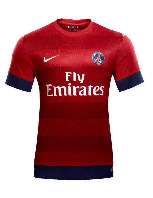 Paris Saint-Germain FC Nike Away Shirt 2012 13 - Football Shirts News  779eabc7b