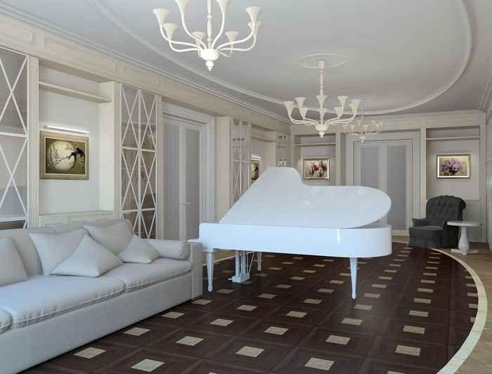 Идеи интерьера ванной, персиковый цвет стен в интерьере