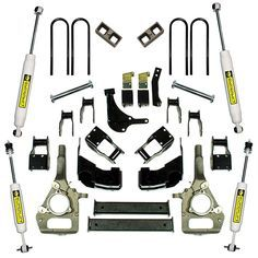 "4"" Ford Suspension Lift Kit - 2000-2010 Ford Ranger 4WD"