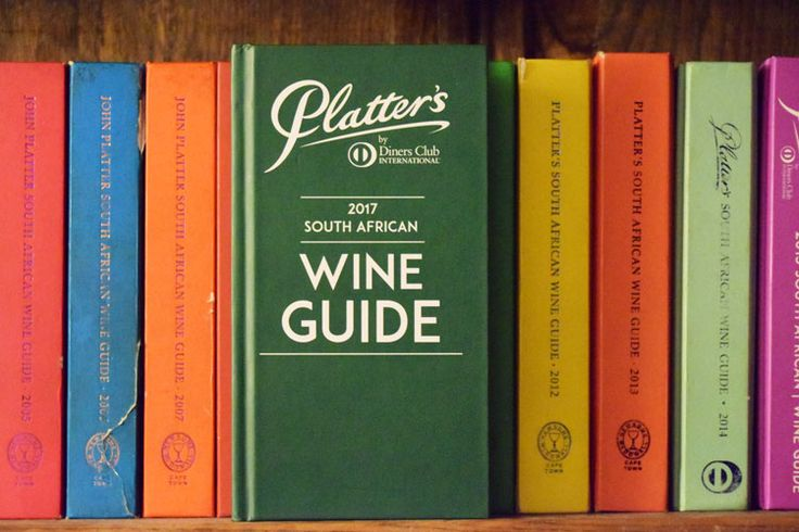 .: Launch of Platter's 2017 South African Wine Guide
