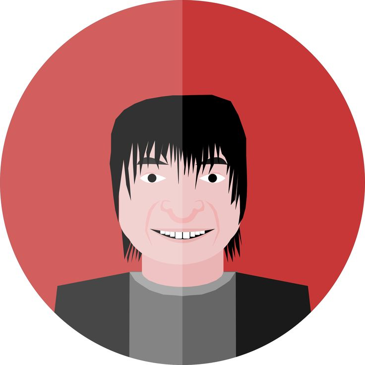 Satoshi Tajiri - Famous Person by @logoscambodia, This is a stylized vector image of Satoshi Tajiri. Image Source: N/A, on @openclipart