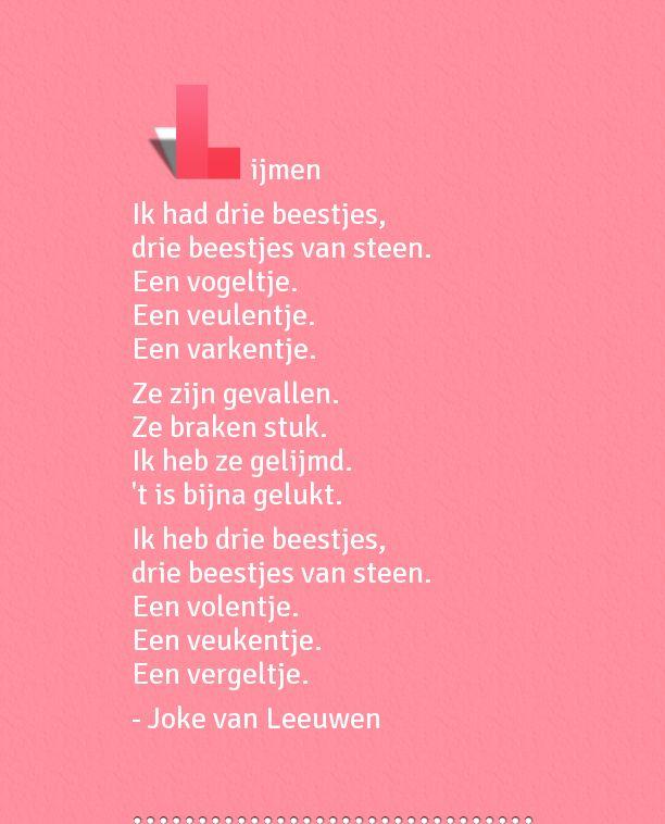 'Lijmen' uit 'Ik zoek een woord' van Joke van Leeuwen. (http://www.wpg.be/ik-zoek-een-woord)