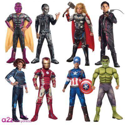 Costumi The Avengers per bambini: eroi di Carnevale!