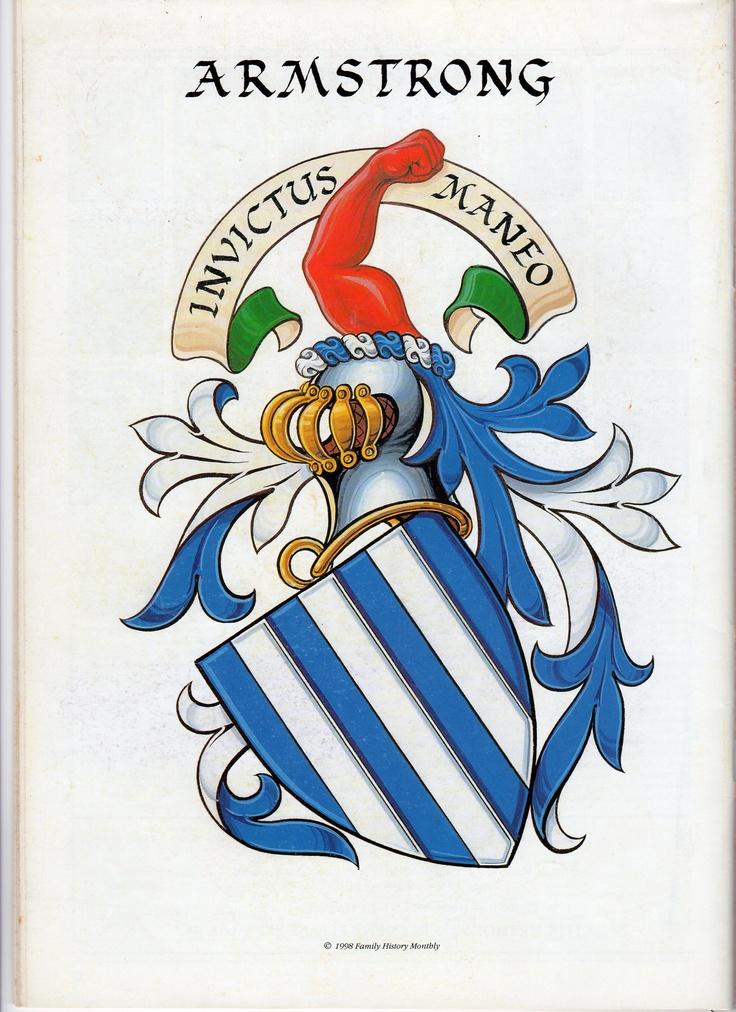 Family Crest Invictus Maneo (I Remain Unconquered)