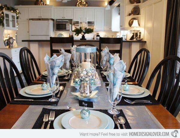 20 Christmas Table Setting Design Ideas