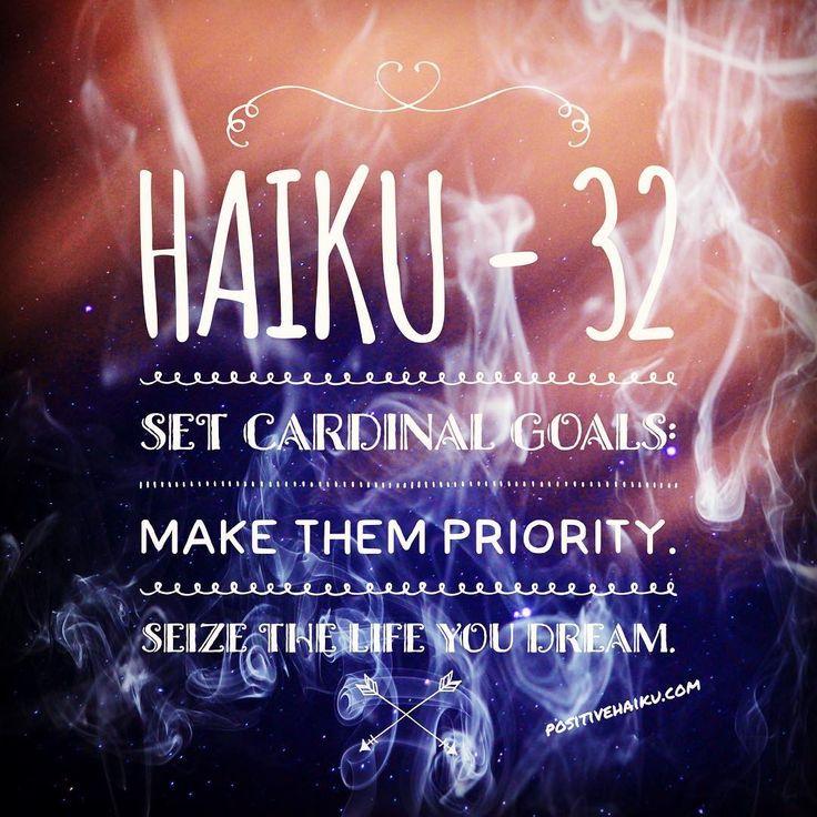 haiku 32 Haiku, Positivity, Writing
