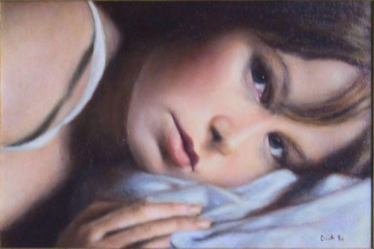 Senza titolo (1994) - Olio su tela