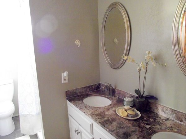 behr pebble stone paint colorused this in master bathroom