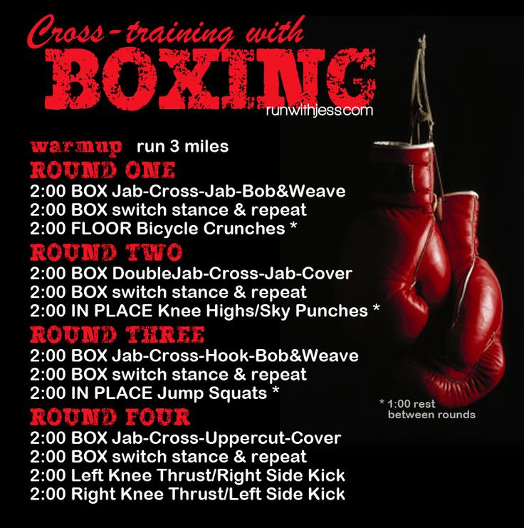Great Run + Boxing Workout!