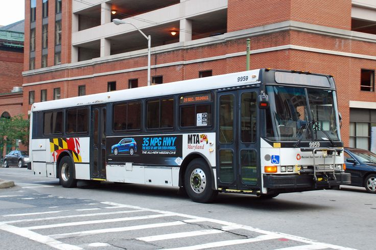 BALTIMORE MTA NABI BUS