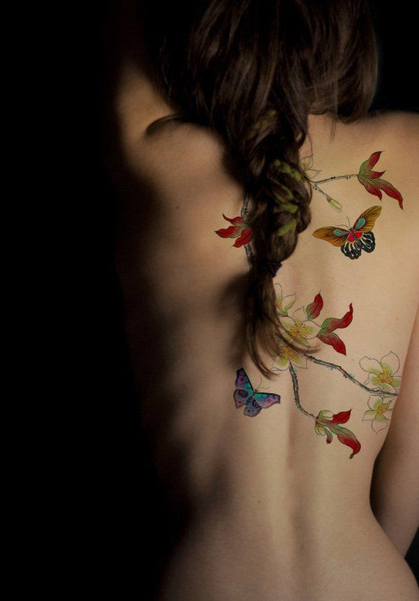 50+ Amazing Butterfly Tattoo Designs | Showcase of Art