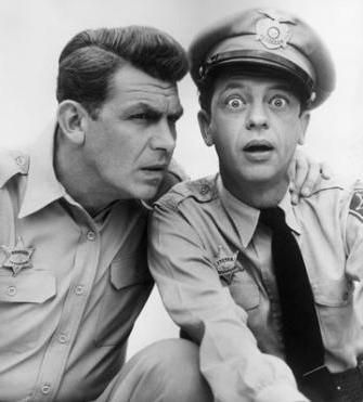 Andy Griffith Show. no matter what show he was in, he always had this face <3 so silly.