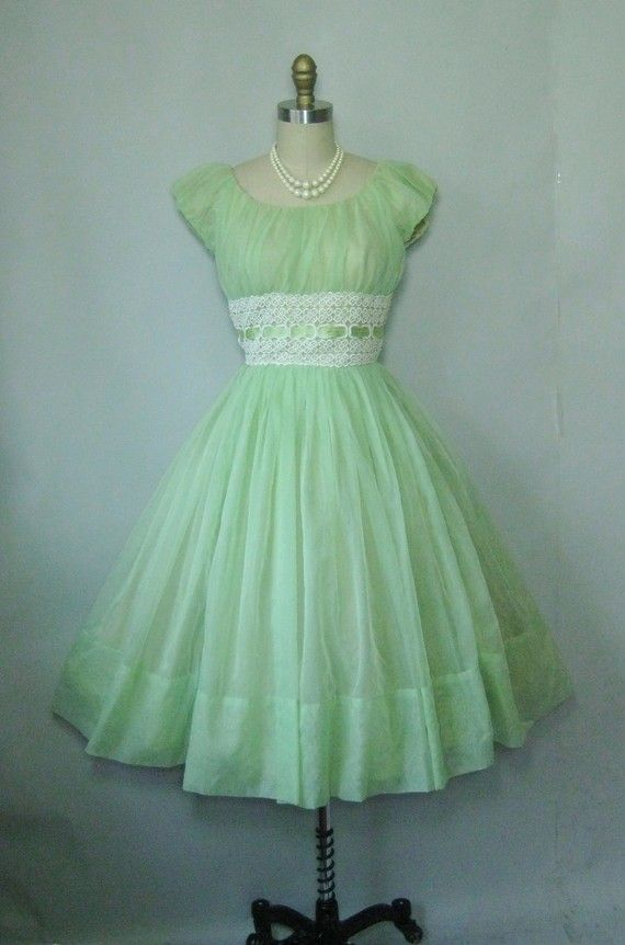 1950's Party Gown