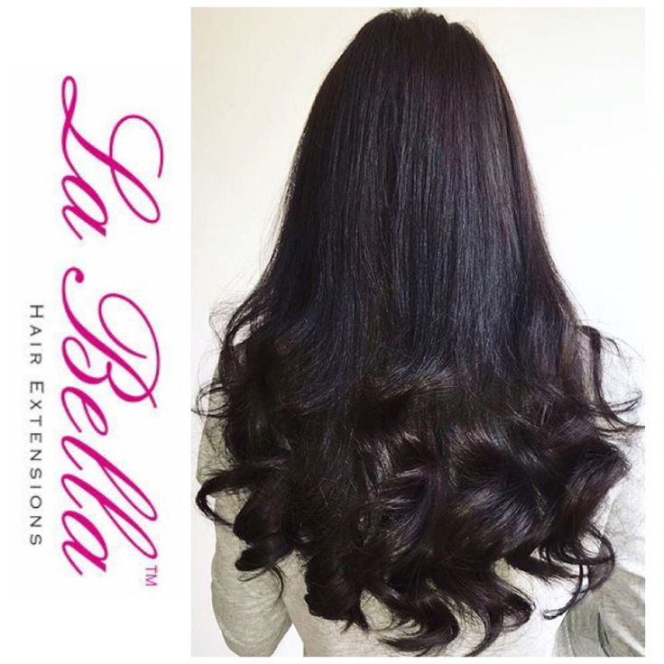 122 best la bella nano ring hair extensions before and after unlike most companies we show our extensions straight so you can see the perfect blend and colour match pmusecretfo Images