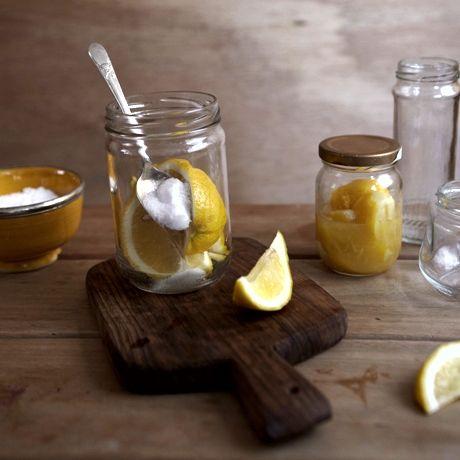 Conserva de limão siciliano