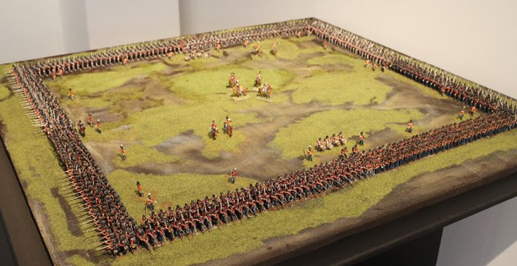 Waterloo Diorama Celle (Special 28mm Miniature!) - Page1