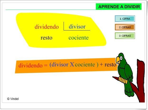 Aprende a dividir (Vindel)