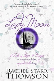 Sunshine and Scribblings: Book Review: Lady Moon {Rachel Starr Thomson}
