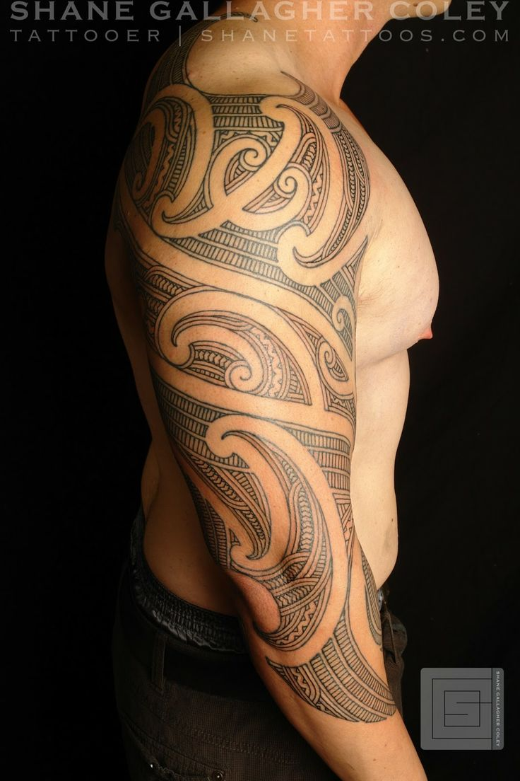 Body Art World Tattoos Maori Tattoo Art And Traditional: SHANE TATTOOS: Maori Sleeve Ta Moko