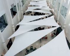 tensile roof cover