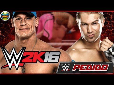 WWE 2K16: Tyler Breeze vs John Cena - PEDIDOS
