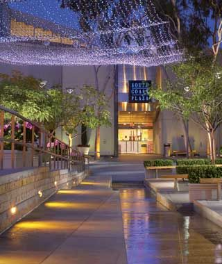 South Coast Plaza, fancy mall in OC near my house