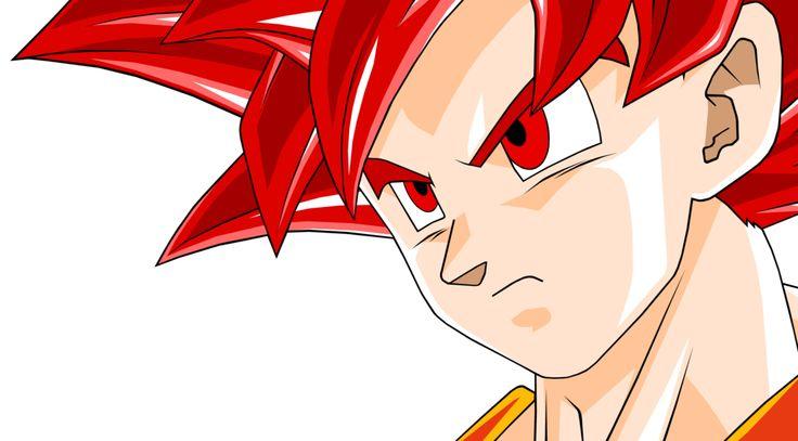 Goku SSJG #2 (DBZ BOG) by Mitomo on @DeviantArt